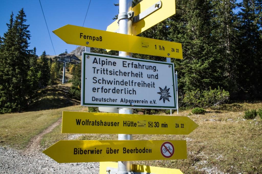 Alpine Trittsicherheit!
