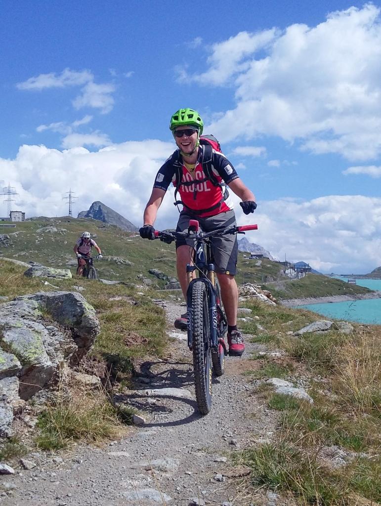 Trail am Lago Bianco