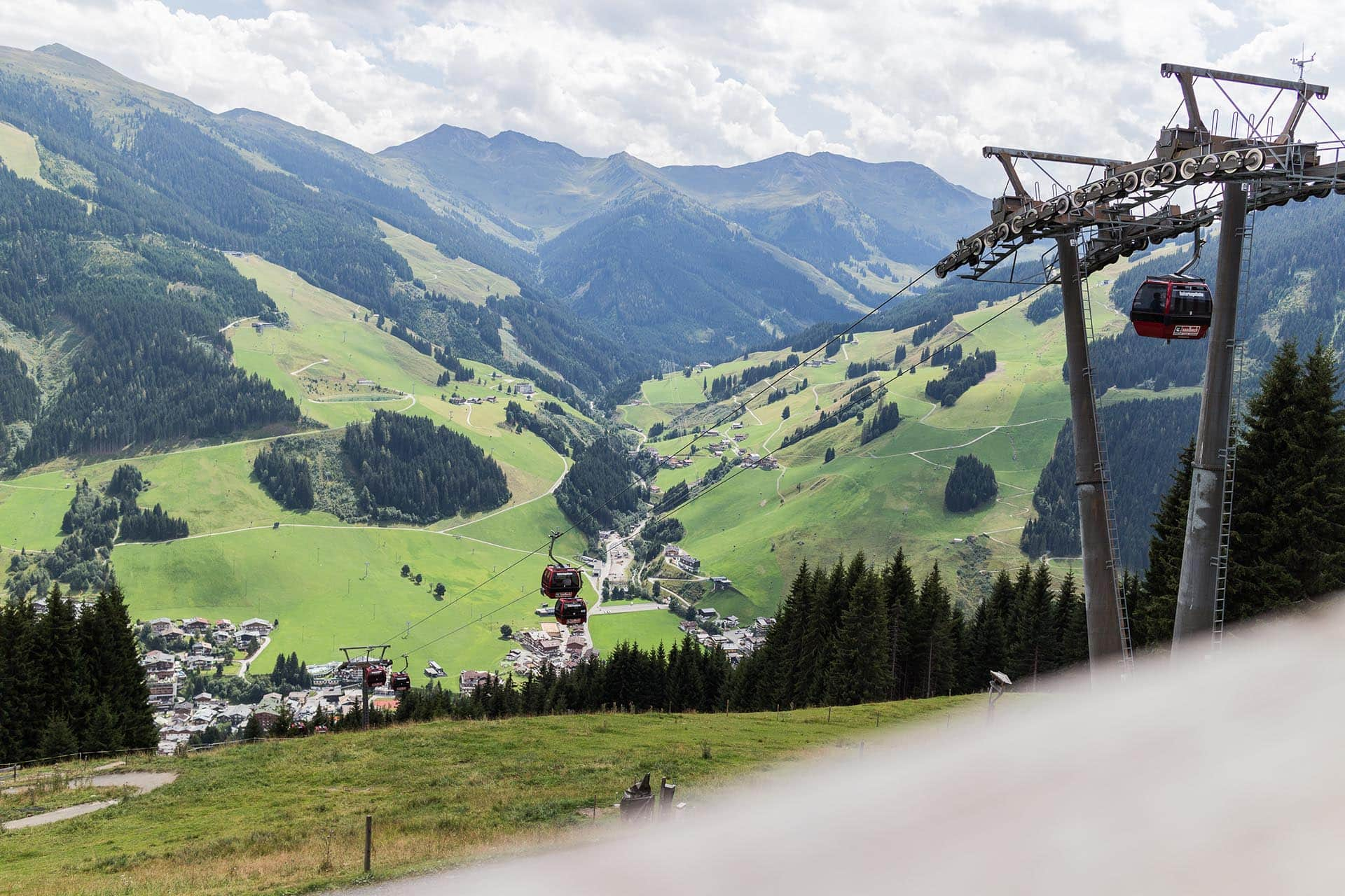 Bergbahnen in Saalbach
