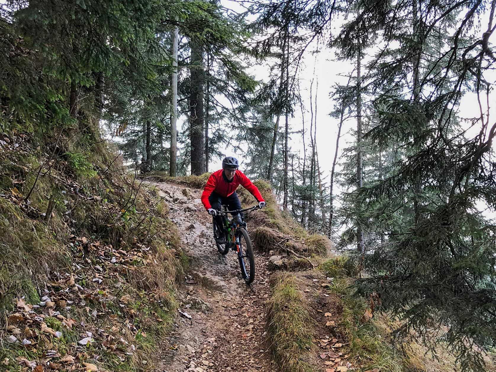 Orbea Rallon auf dem Trail